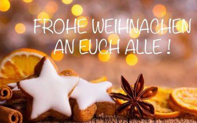 Ein frohes Weihnachtsfest und alles Gute für 2019!