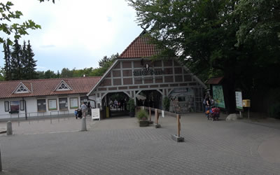 Besuch im Wildpark Lüneburger Heide