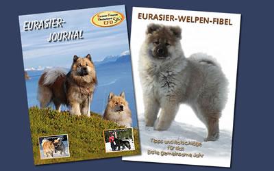 Infomaterial zum Eurasier bzw. zu Welpen